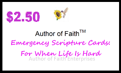 Emergency Scripture Cards