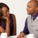 black couple good date